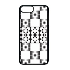 Pattern Background Texture Black Apple Iphone 7 Plus Seamless Case (black) by BangZart