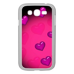 Background Heart Valentine S Day Samsung Galaxy Grand Duos I9082 Case (white) by BangZart