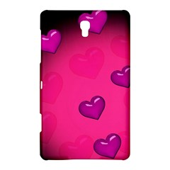 Background Heart Valentine S Day Samsung Galaxy Tab S (8 4 ) Hardshell Case  by BangZart