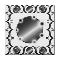 Metal Circle Background Ring Tile Coasters by BangZart
