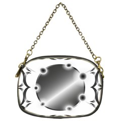 Metal Circle Background Ring Chain Purses (one Side)  by BangZart