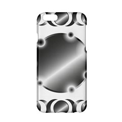 Metal Circle Background Ring Apple Iphone 6/6s Hardshell Case by BangZart