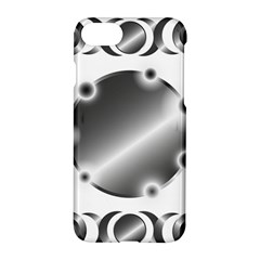 Metal Circle Background Ring Apple Iphone 7 Hardshell Case