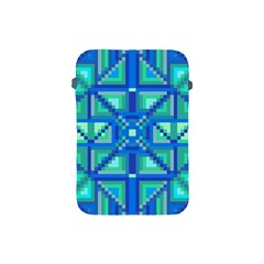 Grid Geometric Pattern Colorful Apple Ipad Mini Protective Soft Cases by BangZart