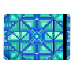 Grid Geometric Pattern Colorful Samsung Galaxy Tab Pro 10 1  Flip Case