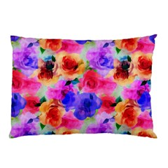 Floral Pattern Background Seamless Pillow Case by BangZart