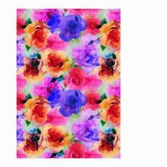 Floral Pattern Background Seamless Small Garden Flag (two Sides)