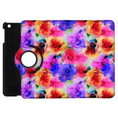 Floral Pattern Background Seamless Apple Ipad Mini Flip 360 Case by BangZart