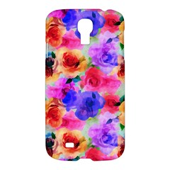 Floral Pattern Background Seamless Samsung Galaxy S4 I9500/i9505 Hardshell Case by BangZart