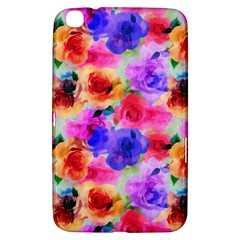 Floral Pattern Background Seamless Samsung Galaxy Tab 3 (8 ) T3100 Hardshell Case  by BangZart