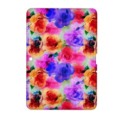 Floral Pattern Background Seamless Samsung Galaxy Tab 2 (10 1 ) P5100 Hardshell Case  by BangZart