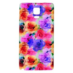 Floral Pattern Background Seamless Galaxy Note 4 Back Case