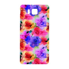 Floral Pattern Background Seamless Samsung Galaxy Alpha Hardshell Back Case by BangZart