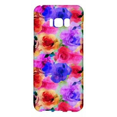 Floral Pattern Background Seamless Samsung Galaxy S8 Plus Hardshell Case  by BangZart