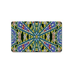 Kaleidoscope Background Magnet (name Card) by BangZart