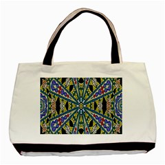 Kaleidoscope Background Basic Tote Bag (two Sides) by BangZart