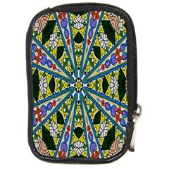 Kaleidoscope Background Compact Camera Cases by BangZart