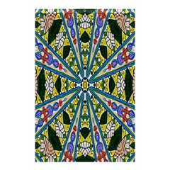 Kaleidoscope Background Shower Curtain 48  X 72  (small)  by BangZart