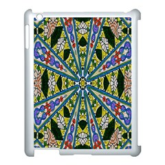 Kaleidoscope Background Apple Ipad 3/4 Case (white) by BangZart