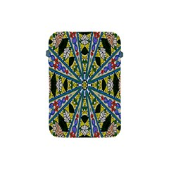 Kaleidoscope Background Apple Ipad Mini Protective Soft Cases by BangZart