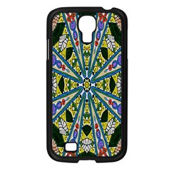 Kaleidoscope Background Samsung Galaxy S4 I9500/ I9505 Case (black) by BangZart