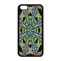 Kaleidoscope Background Apple Iphone 5c Seamless Case (black) by BangZart