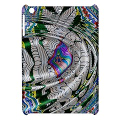 Water Ripple Design Background Wallpaper Of Water Ripples Applied To A Kaleidoscope Pattern Apple Ipad Mini Hardshell Case by BangZart
