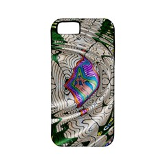 Water Ripple Design Background Wallpaper Of Water Ripples Applied To A Kaleidoscope Pattern Apple Iphone 5 Classic Hardshell Case (pc+silicone)