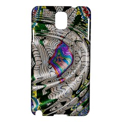 Water Ripple Design Background Wallpaper Of Water Ripples Applied To A Kaleidoscope Pattern Samsung Galaxy Note 3 N9005 Hardshell Case