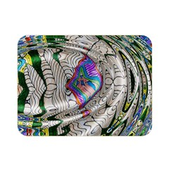 Water Ripple Design Background Wallpaper Of Water Ripples Applied To A Kaleidoscope Pattern Double Sided Flano Blanket (mini)  by BangZart
