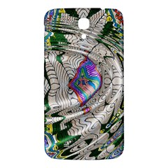Water Ripple Design Background Wallpaper Of Water Ripples Applied To A Kaleidoscope Pattern Samsung Galaxy Mega I9200 Hardshell Back Case by BangZart