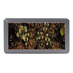 Wallpaper With Fractal Small Flowers Memory Card Reader (mini) by BangZart