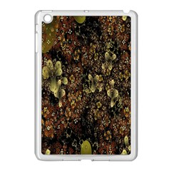 Wallpaper With Fractal Small Flowers Apple Ipad Mini Case (white) by BangZart