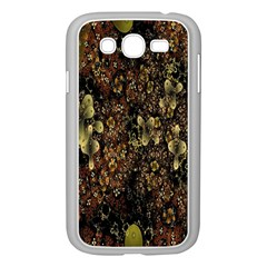 Wallpaper With Fractal Small Flowers Samsung Galaxy Grand Duos I9082 Case (white)