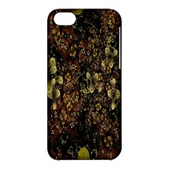Wallpaper With Fractal Small Flowers Apple Iphone 5c Hardshell Case by BangZart