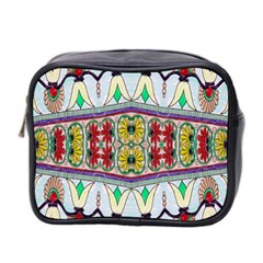 Kaleidoscope Background  Wallpaper Mini Toiletries Bag 2 Side by BangZart