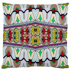 Kaleidoscope Background  Wallpaper Large Cushion Case (one Side) by BangZart
