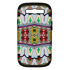 Kaleidoscope Background  Wallpaper Samsung Galaxy S Iii Hardshell Case (pc+silicone) by BangZart