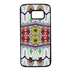 Kaleidoscope Background  Wallpaper Samsung Galaxy S7 Black Seamless Case by BangZart