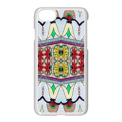 Kaleidoscope Background  Wallpaper Apple Iphone 7 Seamless Case (white) by BangZart