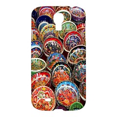 Colorful Oriental Bowls On Local Market In Turkey Samsung Galaxy S4 I9500/i9505 Hardshell Case by BangZart