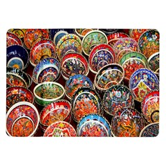 Colorful Oriental Bowls On Local Market In Turkey Samsung Galaxy Tab 10 1  P7500 Flip Case by BangZart