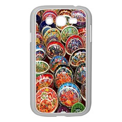 Colorful Oriental Bowls On Local Market In Turkey Samsung Galaxy Grand Duos I9082 Case (white) by BangZart