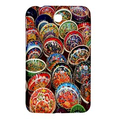 Colorful Oriental Bowls On Local Market In Turkey Samsung Galaxy Tab 3 (7 ) P3200 Hardshell Case  by BangZart