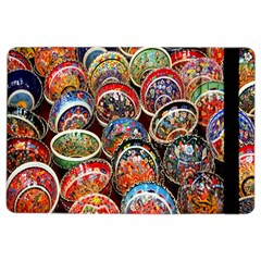 Colorful Oriental Bowls On Local Market In Turkey Ipad Air 2 Flip