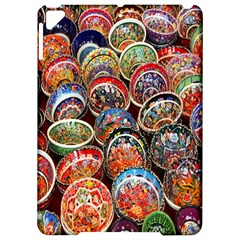Colorful Oriental Bowls On Local Market In Turkey Apple Ipad Pro 9 7   Hardshell Case by BangZart