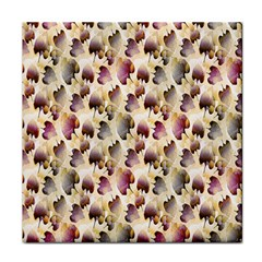 Random Leaves Pattern Background Face Towel by BangZart