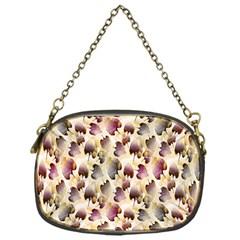 Random Leaves Pattern Background Chain Purses (one Side)  by BangZart