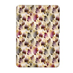 Random Leaves Pattern Background Samsung Galaxy Tab 2 (10 1 ) P5100 Hardshell Case  by BangZart