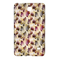 Random Leaves Pattern Background Samsung Galaxy Tab 4 (7 ) Hardshell Case  by BangZart